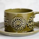 Portmeirion Totem teacup green