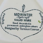 Midwinter saladware bowl mark