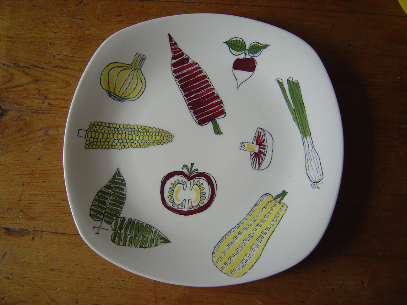 Midwinter salad plate