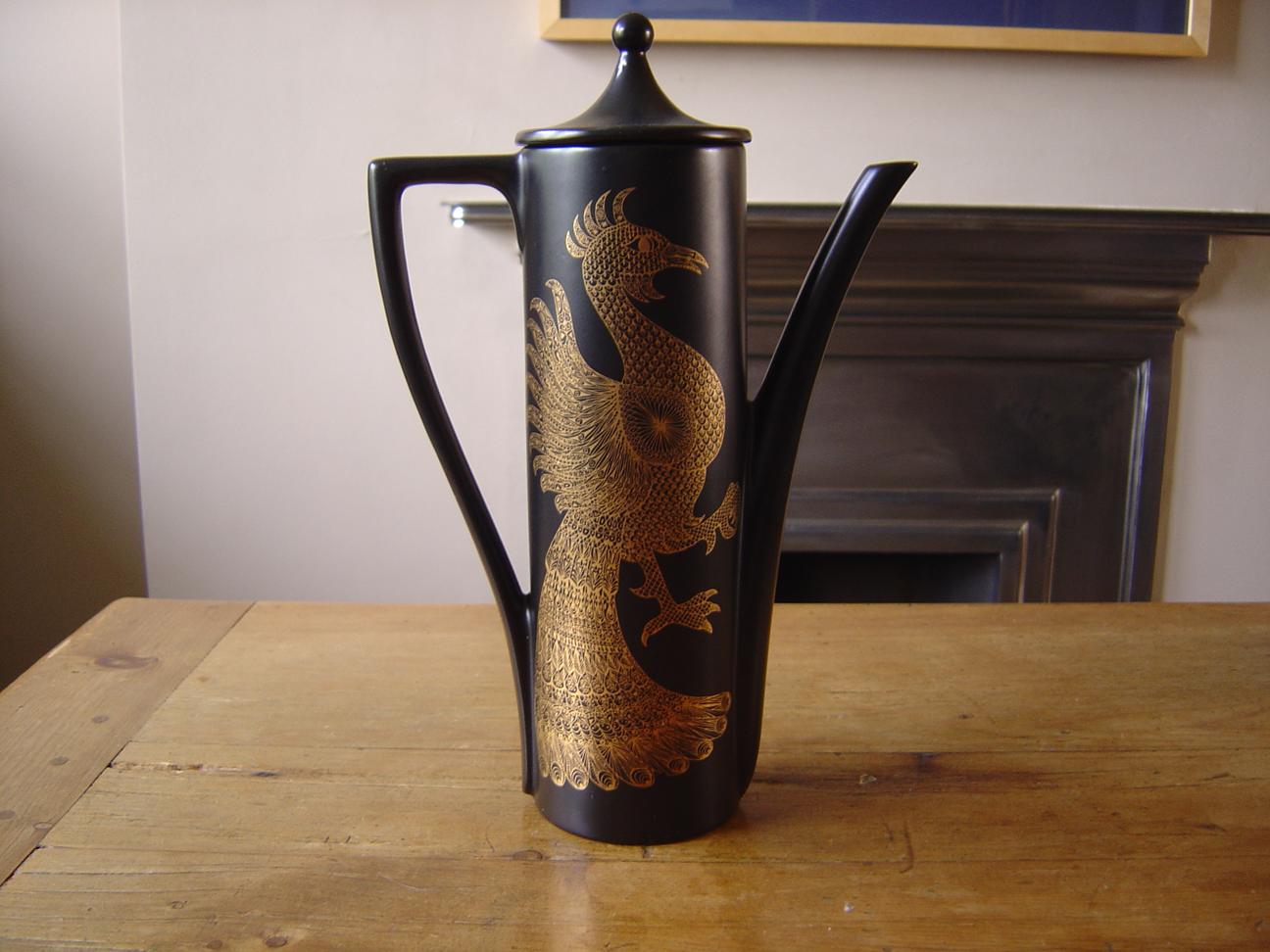 Portmeirion pheonix-coffee-pot
